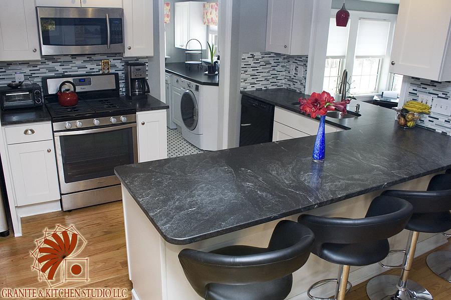 Jet Mist Honed Granite Amp Kitchen Studio